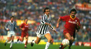 Un tipico Roma-Juve degli anni 80