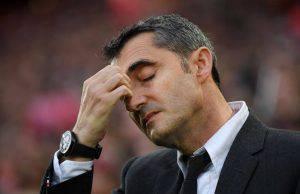 Valverde non è sicuro di restare al Camp Nou