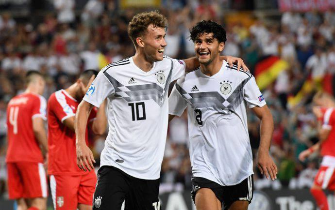 6-1 della Germania ai danni della Serbia!
