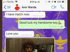 Amr Warda, giocatore del Paok e dall'Egitto