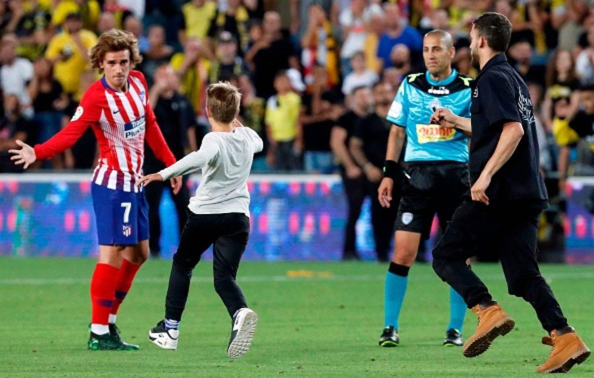 Antoine Griezmann assalto Manchester United