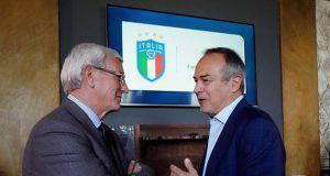 Antonio Cabrini insieme a Marcello Lippi