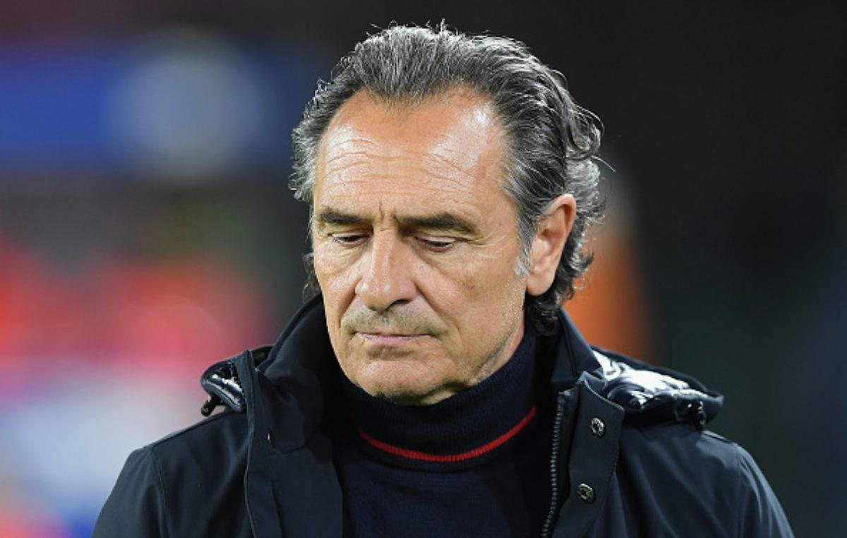 Cesare Prandelli addio Genoa