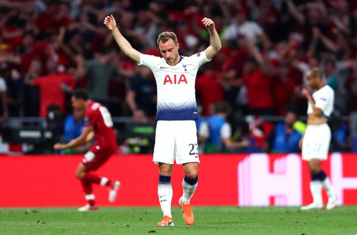 Eriksen messaggio al Real Madrid