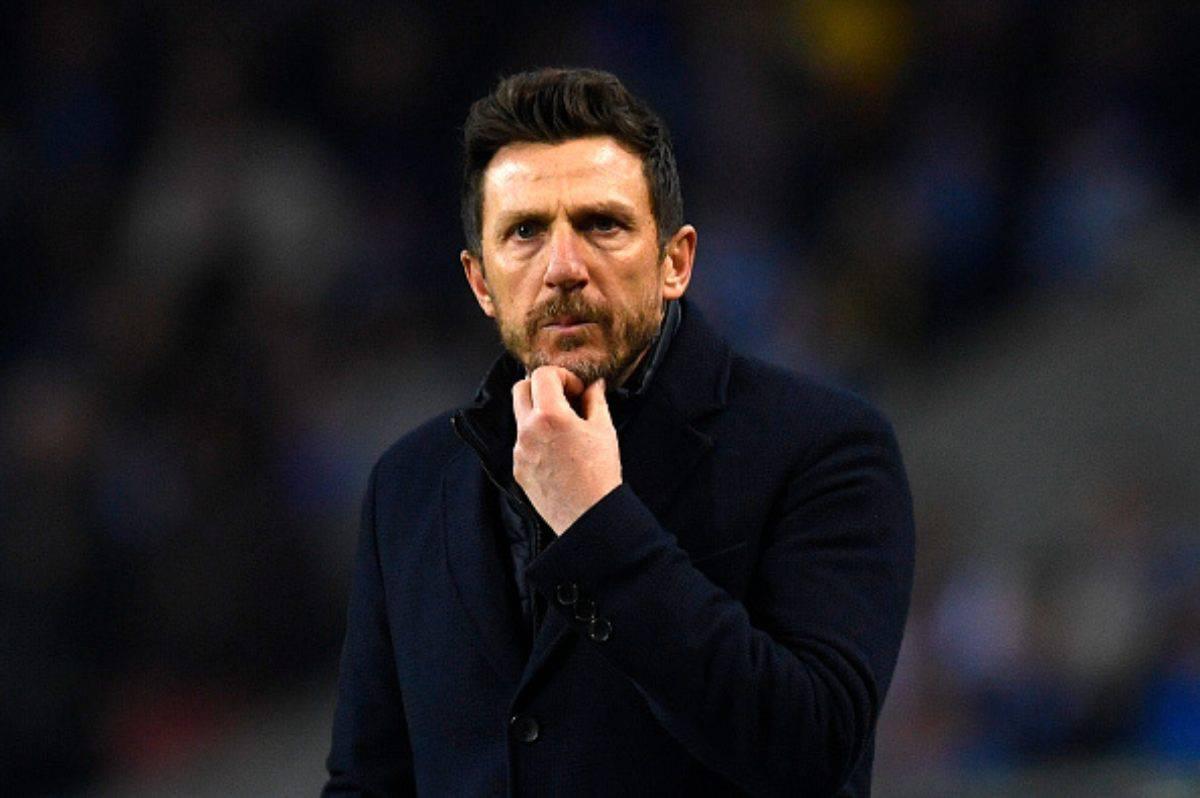 Eusebio Di Francesco verso la Sampdoria