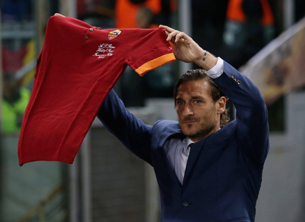 Francesco Totti Roma ipotesi addio