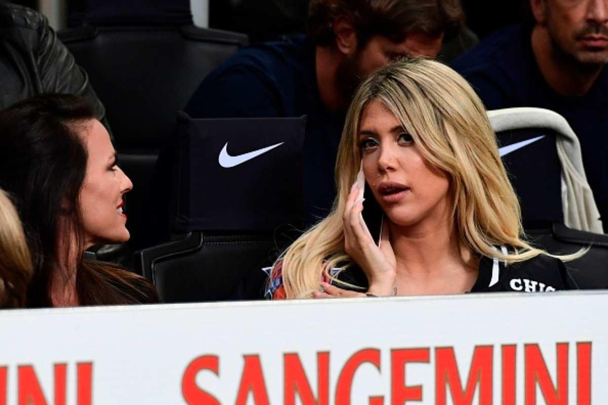 Wanda Conte Icardi Inter