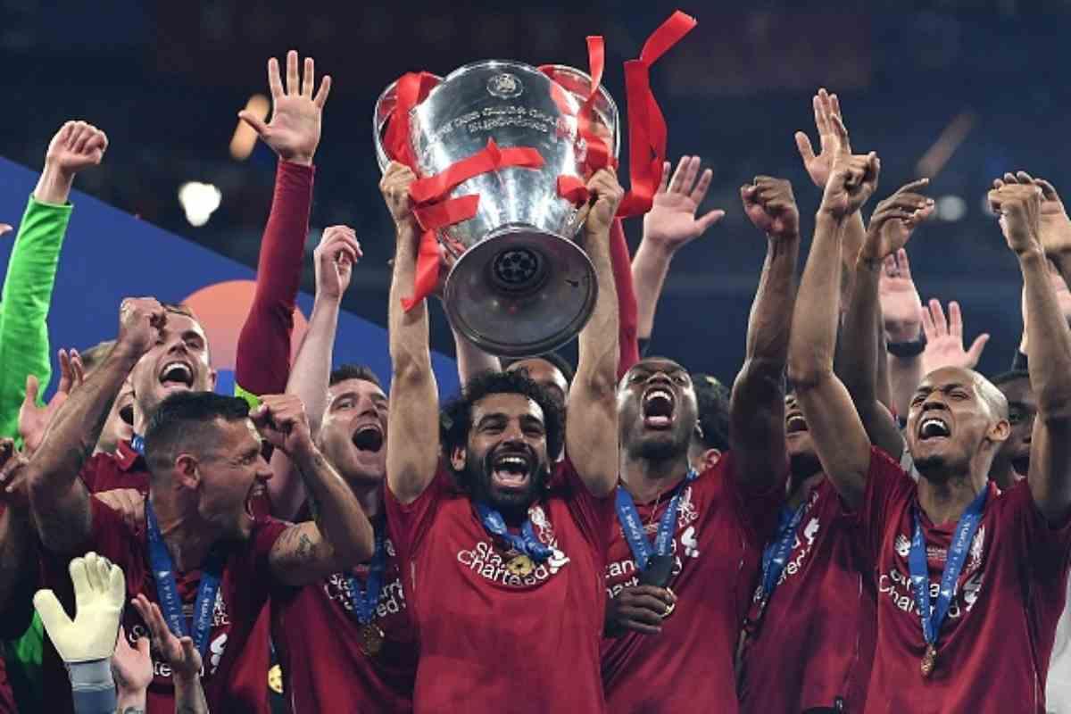 Liverpool Stampa estera Champions League