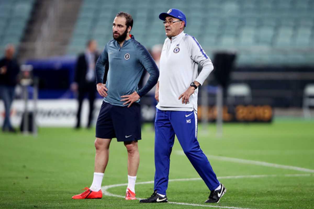 Higuain Juventus Sarri