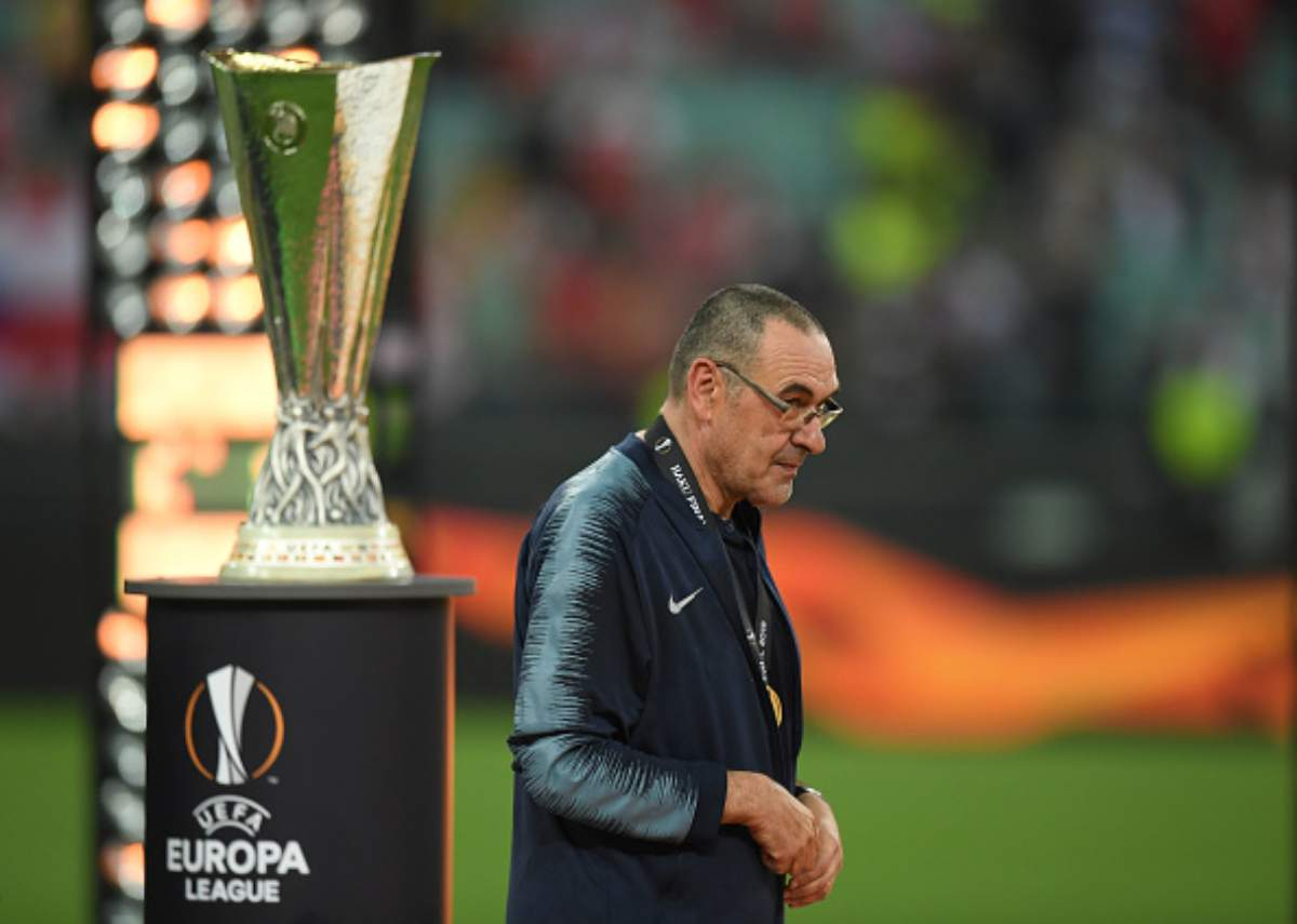 Sarri Chelsea Juventus