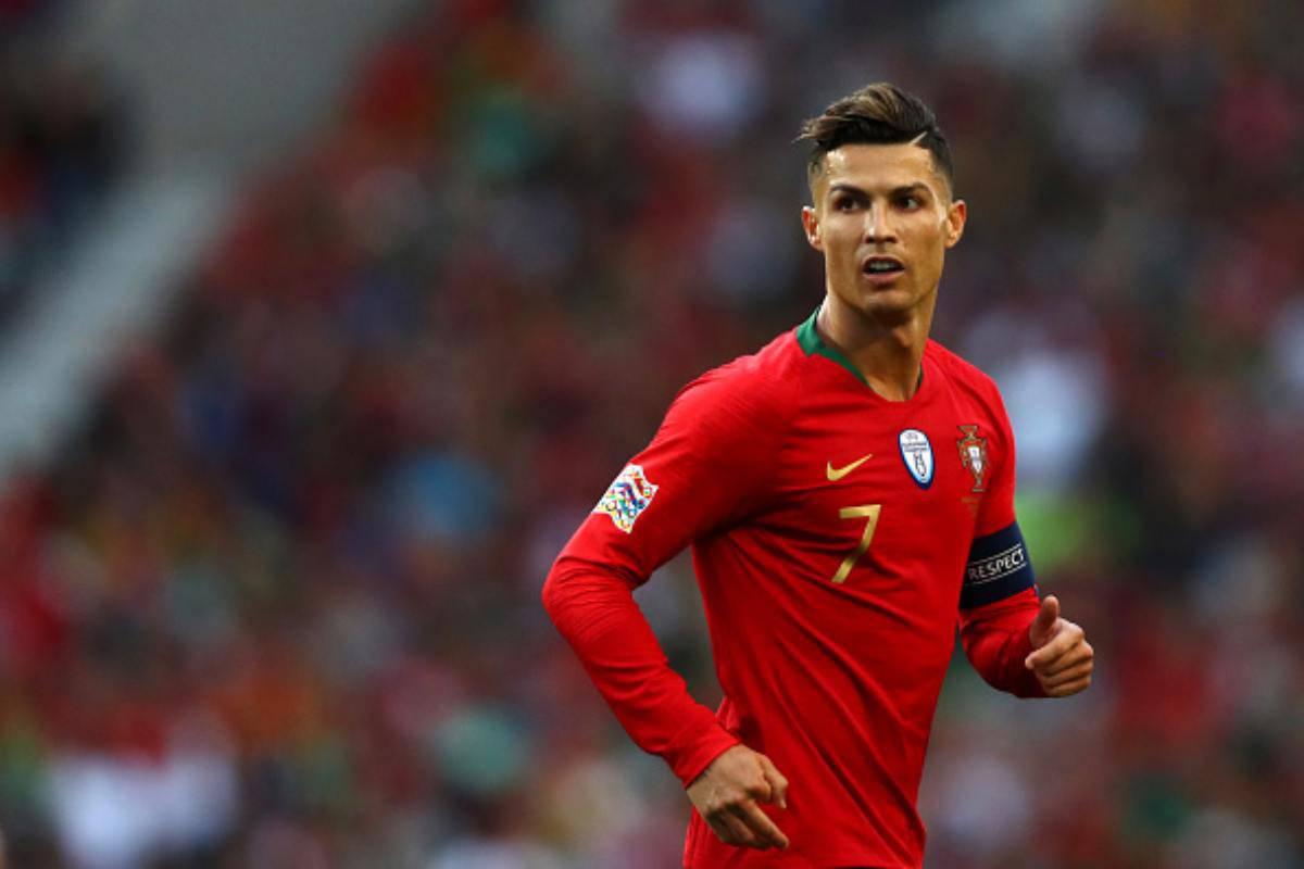 Cristiano Ronaldo mancia