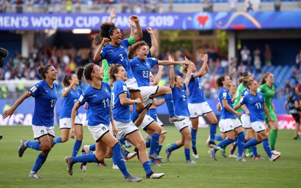 Classifica Ranking mondiale nazionali femminili: l'Italia è quindicesima