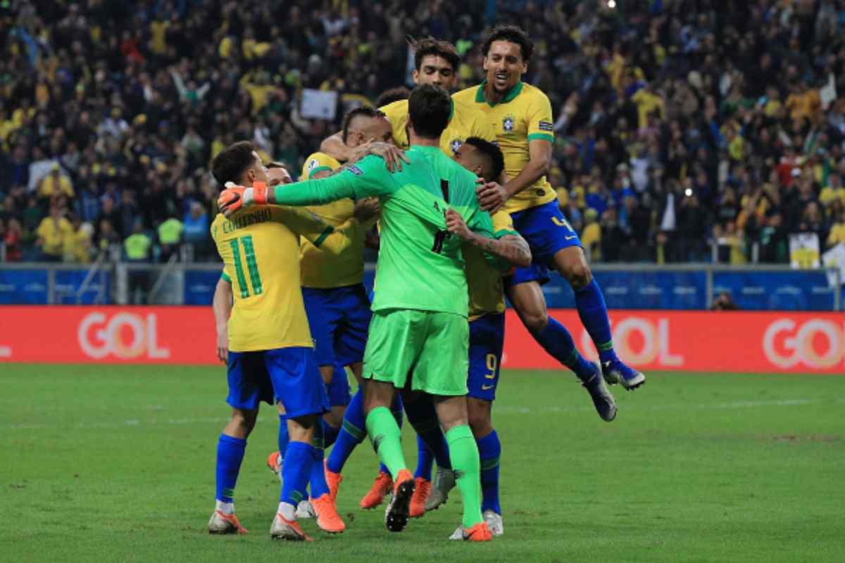 Copa America Brasile Paraguay