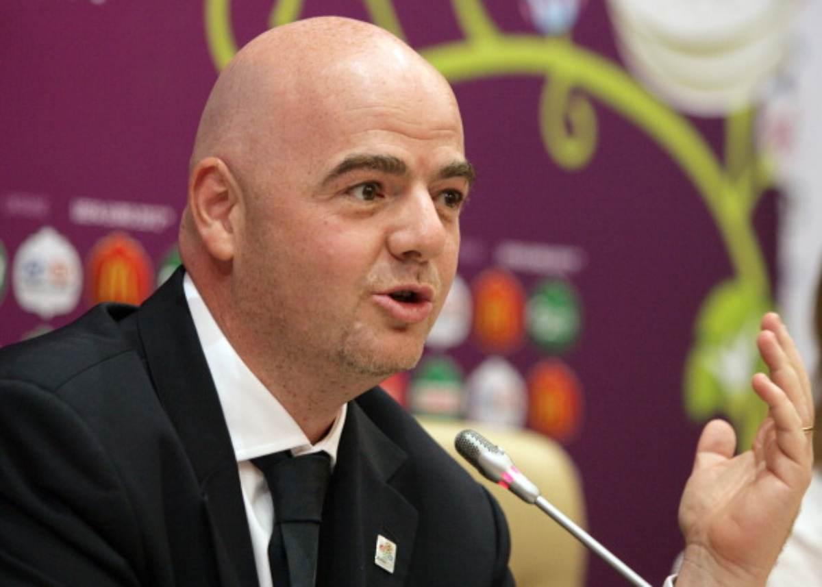 Gianni Infantino presidente Fifa