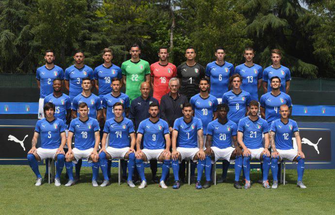 Italia under 21 pronta per l'Europeo in casa!