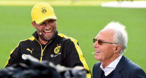 Klopp e Beckenbauer ai tempi di Dortmund