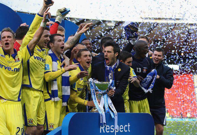 Manuel Pascali ha vinto la Coppa di Lega nel 2012 con il Kilmarnock!