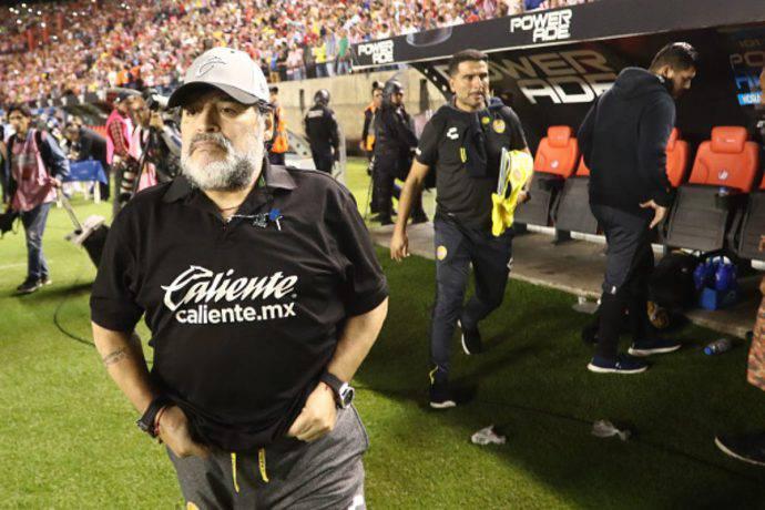 Maradona addio Dorados