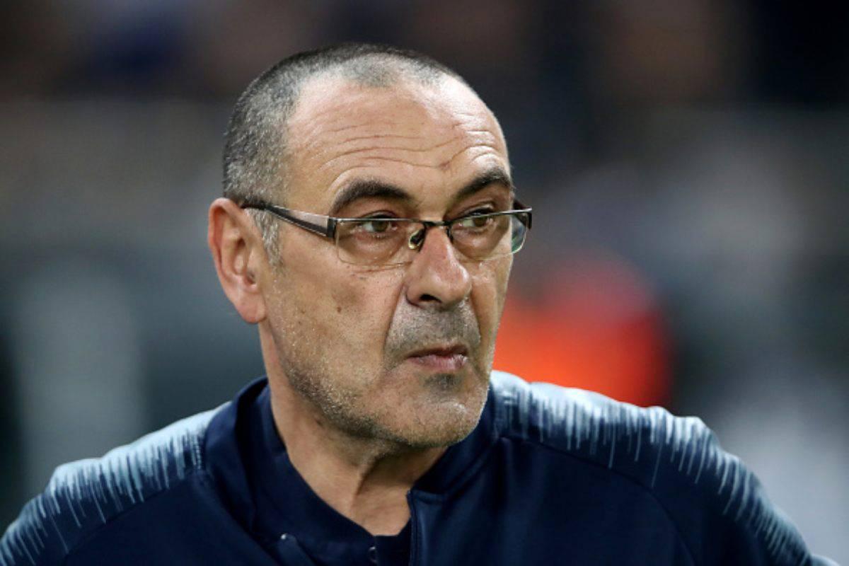 Maurizio Sarri neo allenatore della Juventus. Ecco la reazione della stampa inglese