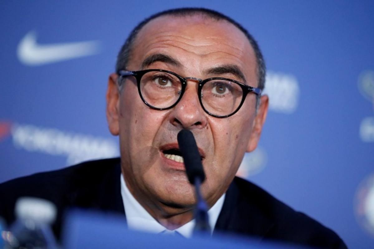 Maurizio Sarri attesa Juventus