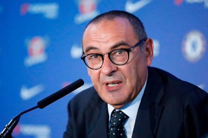Maurizio Sarri presentazione Juventus