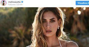 Melissa Satta su Instagram