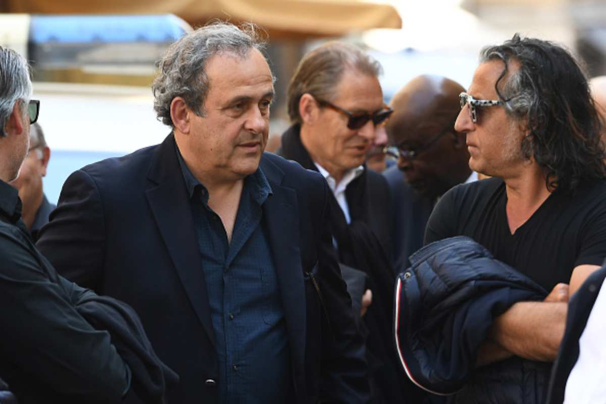 Michel Platini ex presidente Uefa