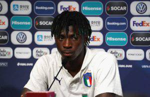 Moise Kean il padre lo spinge all'Inter