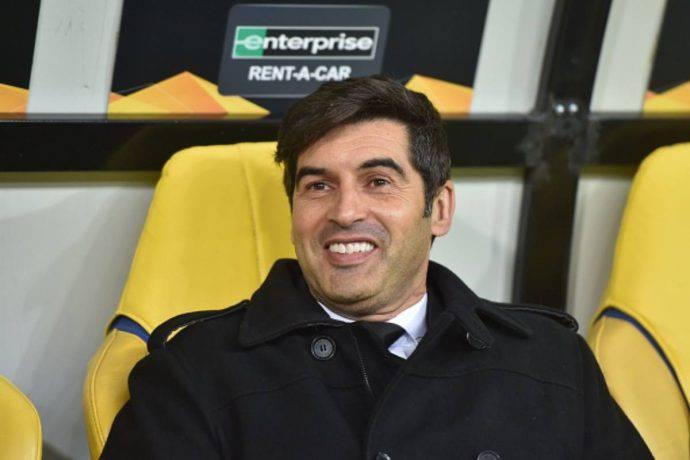 Paulo Fonseca Roma vicina