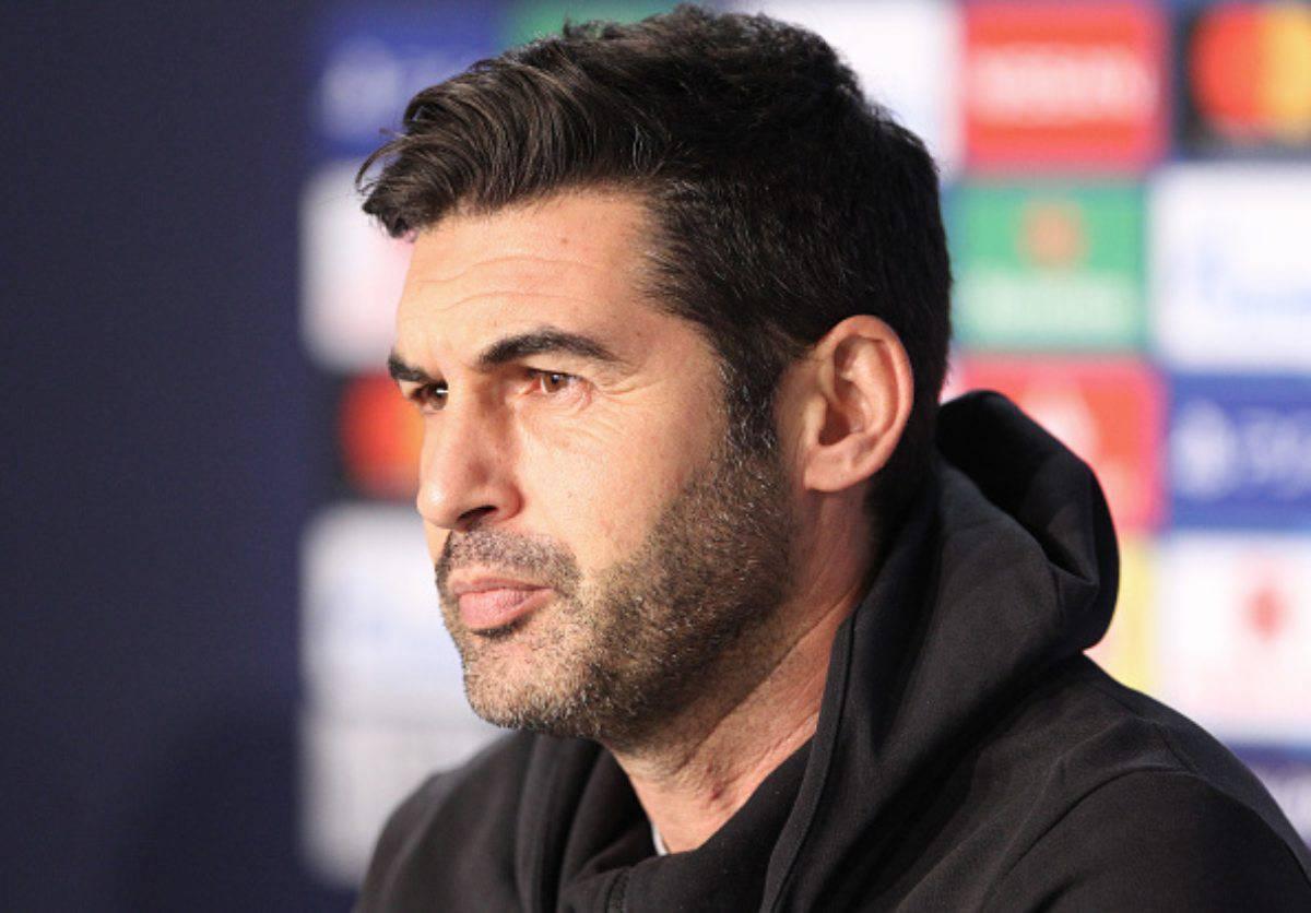 Paulo Fonseca tecnico della Roma