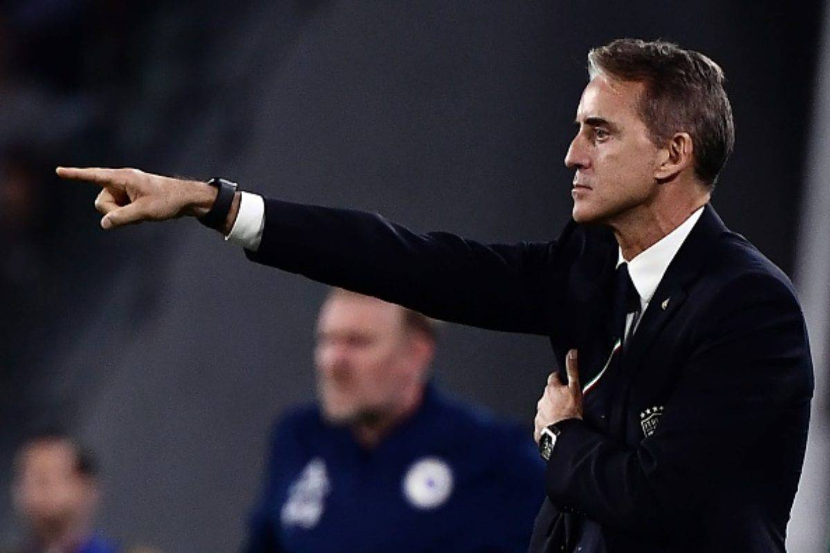 Roberto Mancini ct Italia