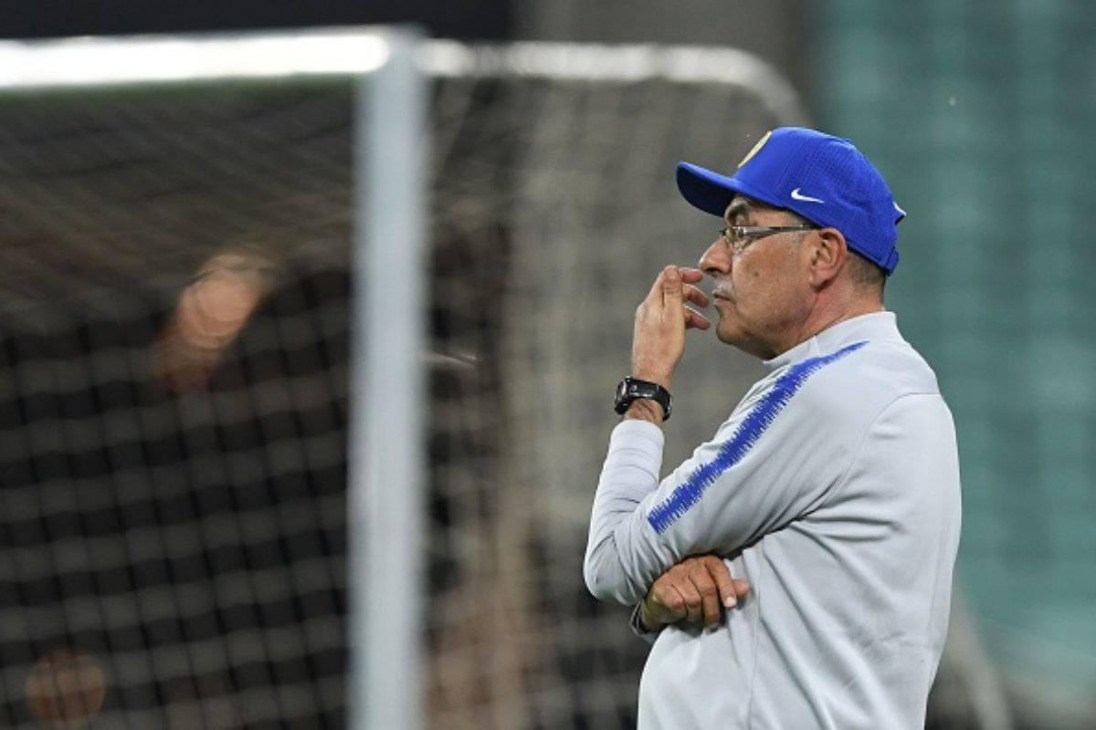 Sarri pensa alla nuova Juventus