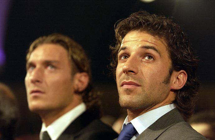Totti e Del Piero, campioni del mondo 2006