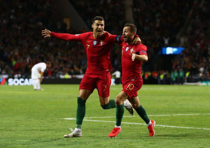 Tris di Ronaldo ad Oporto!