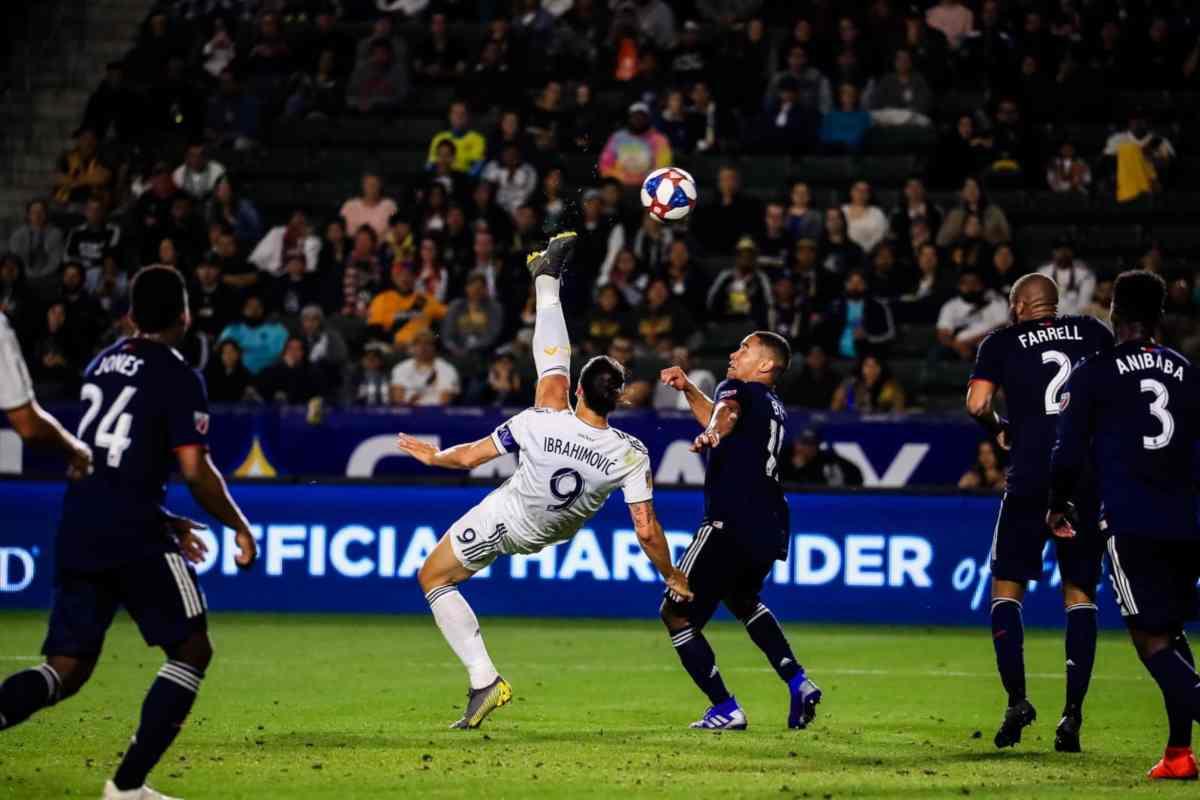 Ibrahimovic rovesciata Galaxy MLS