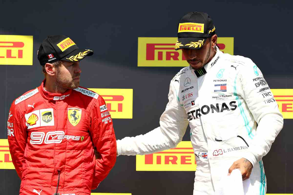 Sebastian Vettel Lewis Hamilton Formula 1