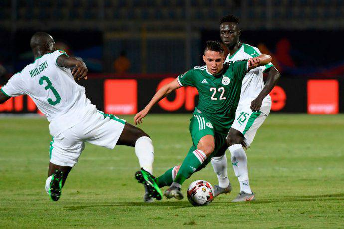 Bennacer con la sua Algeria contro il Senegal