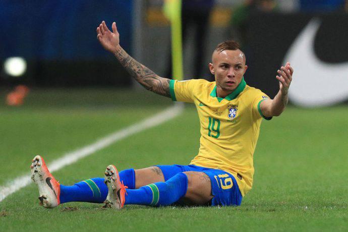 Everton, stella del Gremio e del Brasile