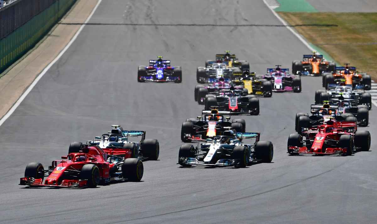 Formula 1 F1 Silverstone