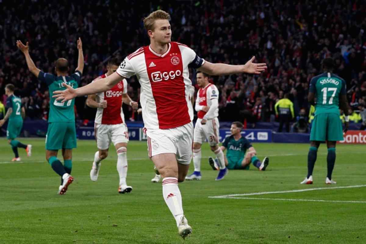 De Ligt Juventus Ajax Raiola