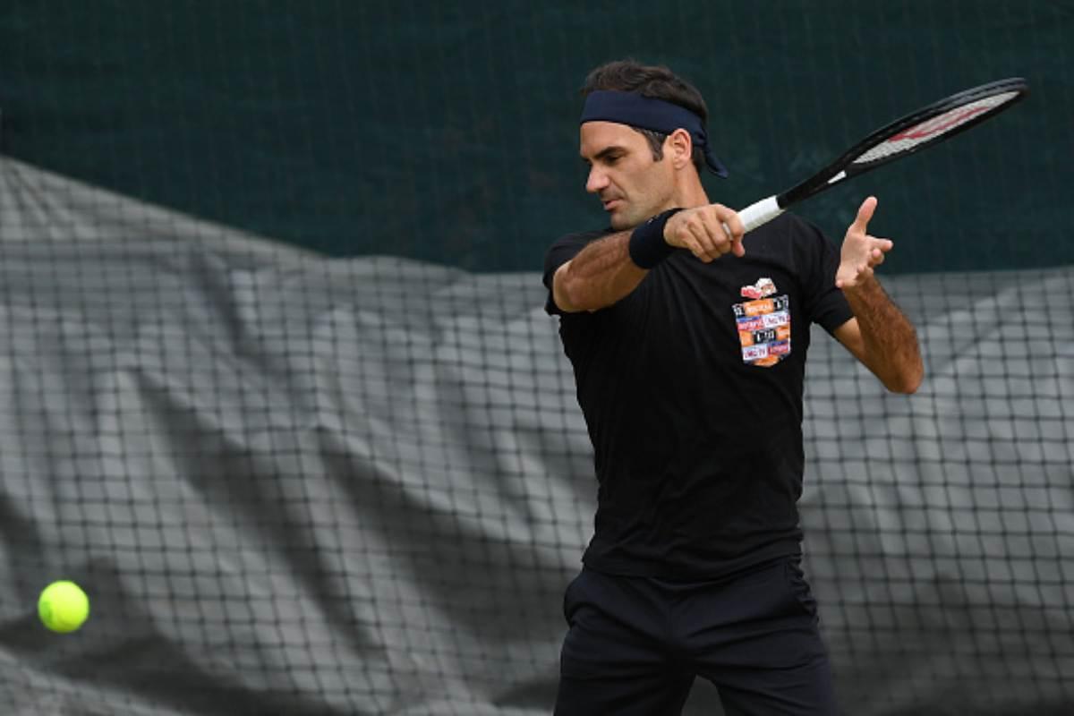 Federer Nishikori Wimbledon