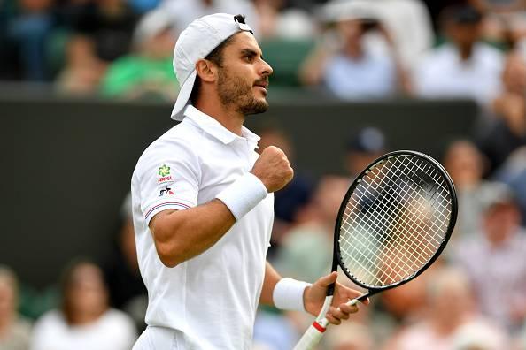 Thomas Fabbiano Wimbledon