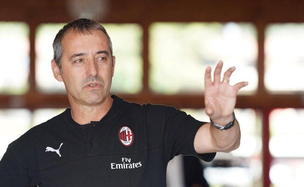 Marco Giampaolo presentato ufficialmente al Milan