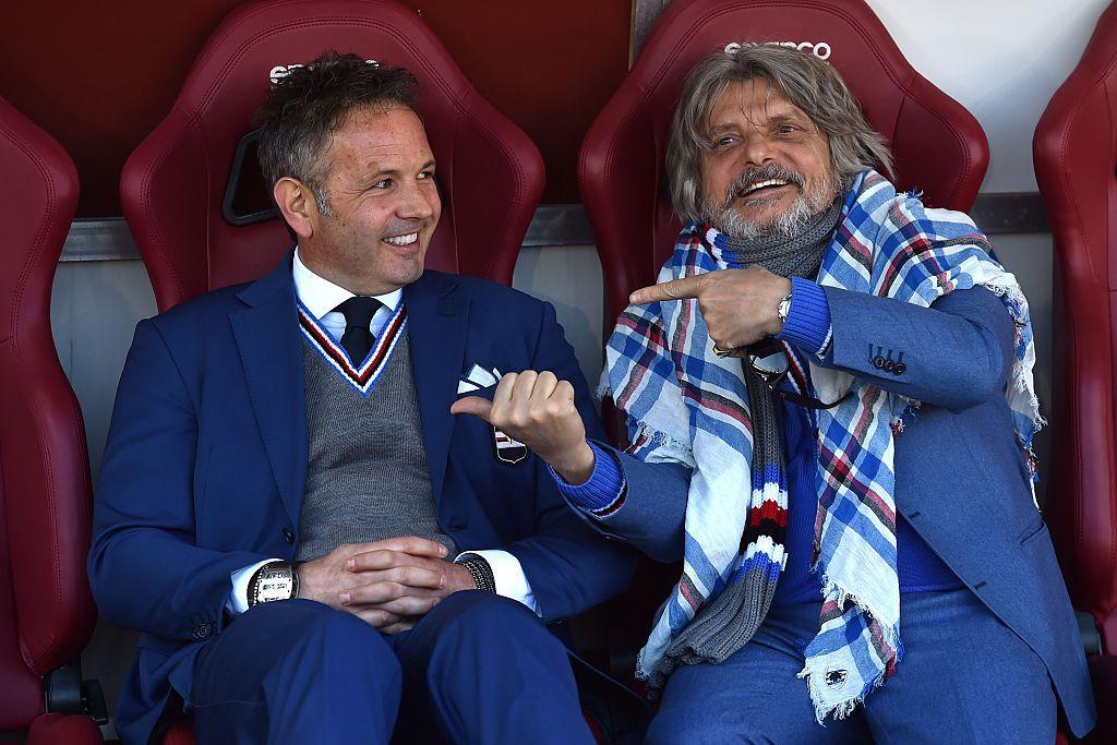 Mihajlovic scherza con Ferrero