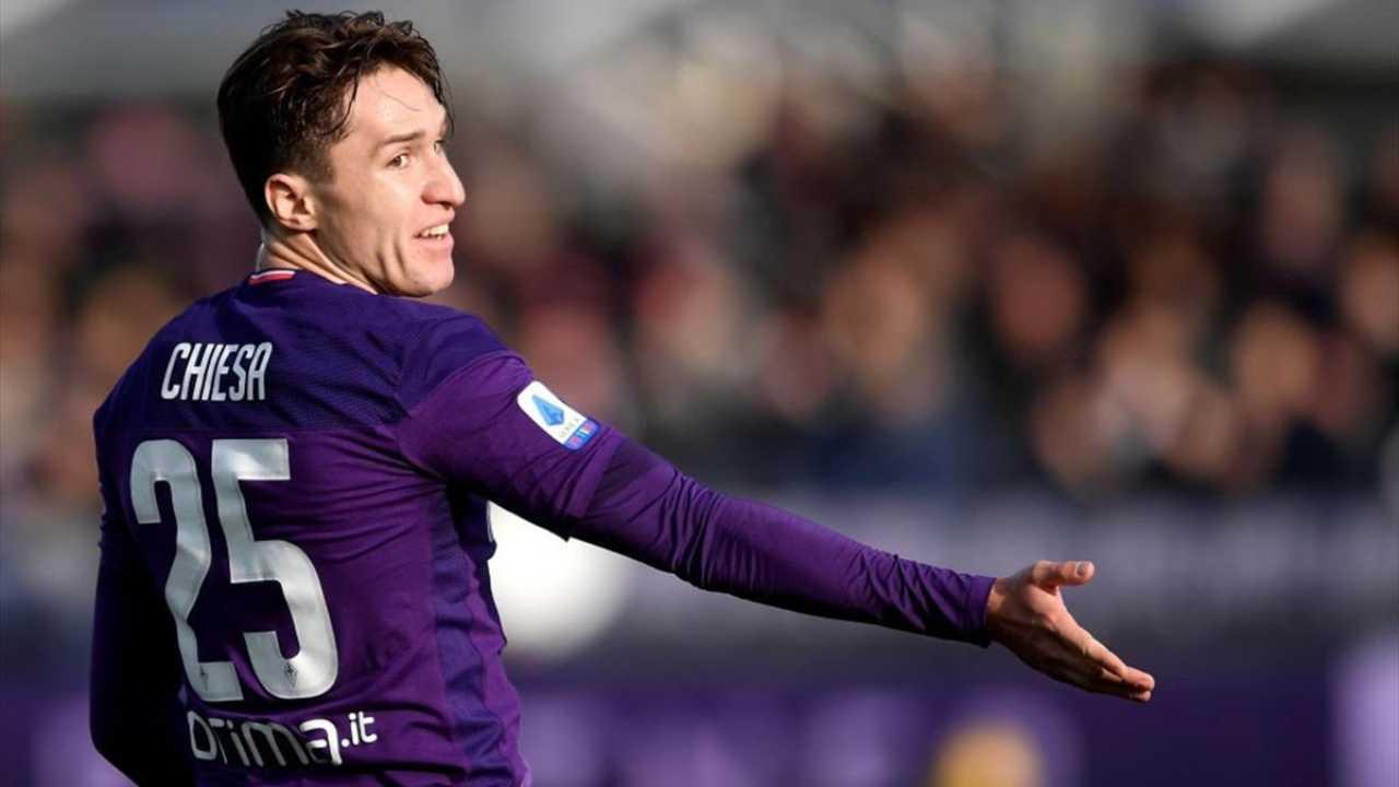 Federico Chiesa, esterno offensivo della Fiorentina