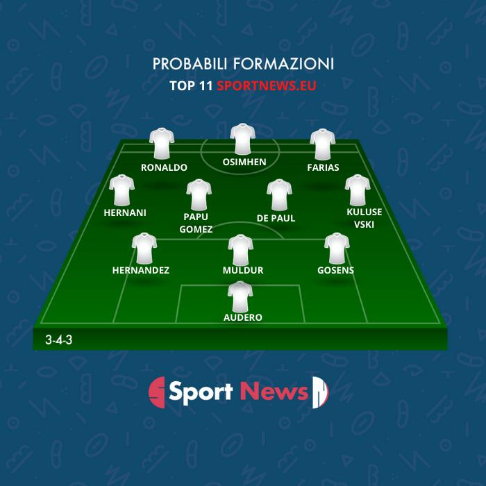 La TOP 11 per la seconda giornata di fantacalcio di Sportnews.eu