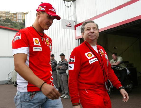 Todt e Schumacher