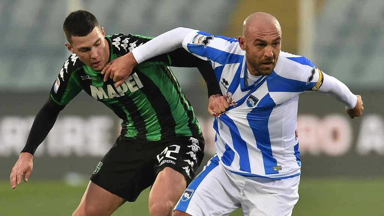 Serie B | Pescara, follia Bruno: manda un tifoso all'ospedale