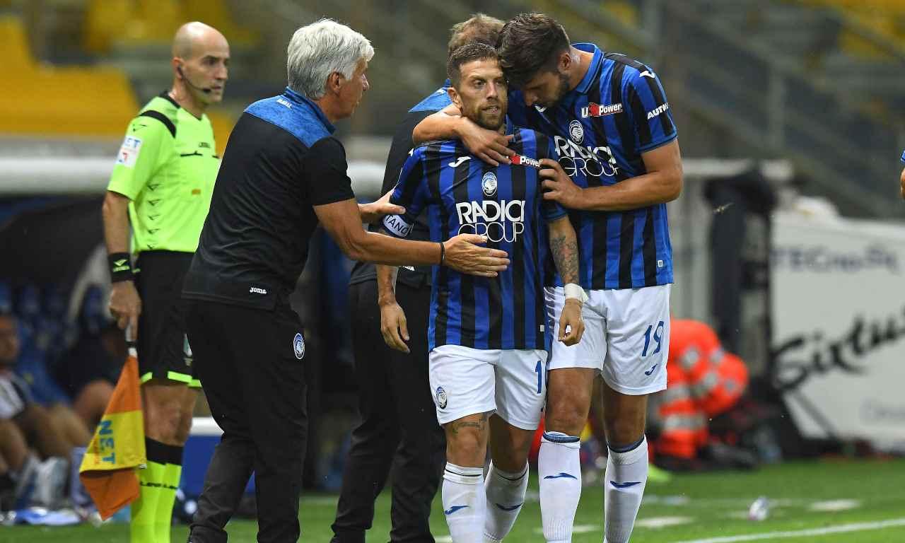 Atalanta Inter probabili formazioni