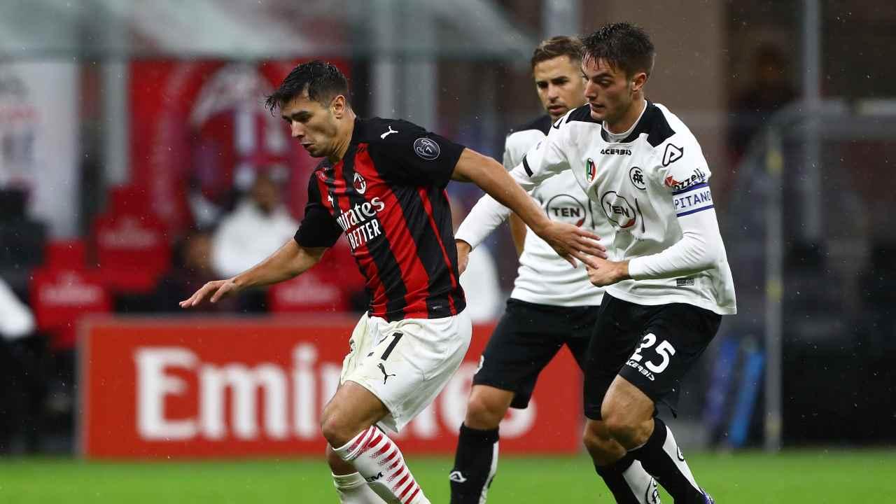 Milan   I nazionali in forma derby. Brahim Diaz dà spettacolo (VIDEO)